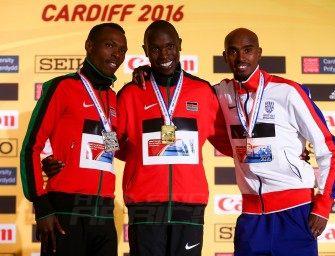 Kamworor retains World Half Marathon title at Cardiff 2016