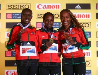 Jepchirchir takes gold as Kenyans sweep Cardiff 2016 medals