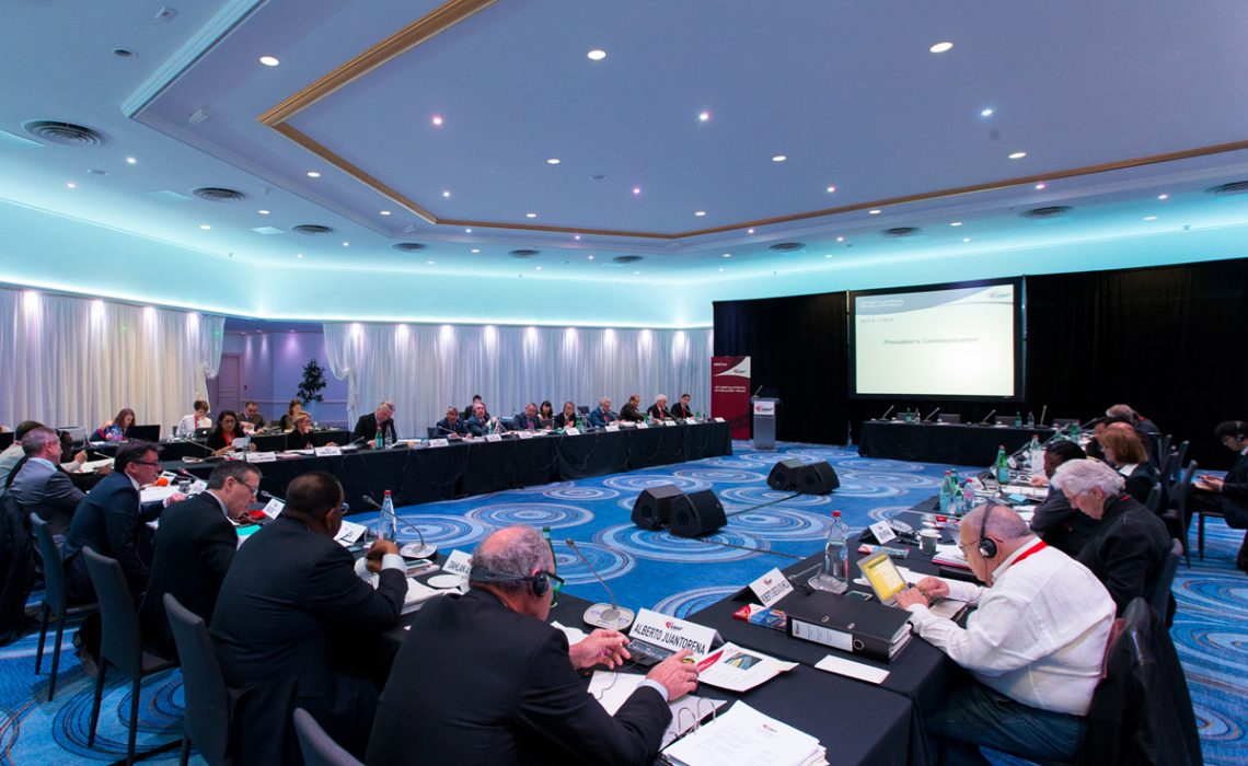 IAAF Council meeting 2016 / © Philippe Fitte / IAAF