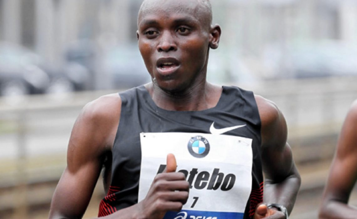 Levy Omari Matebo on his way to run a personal best in Frankfurt 2011/ Photo credit: photorun.net