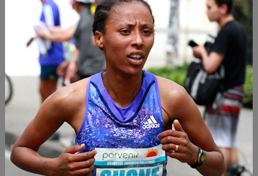 Guteni Shone from Ethiopia / Photo Credit: www.photorun.net