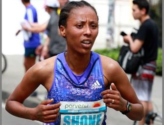 Shone leads women's field at Vienna City Marathon 2016
