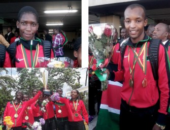 Kenyans sweep podium at African XC Champs in Yaoundé
