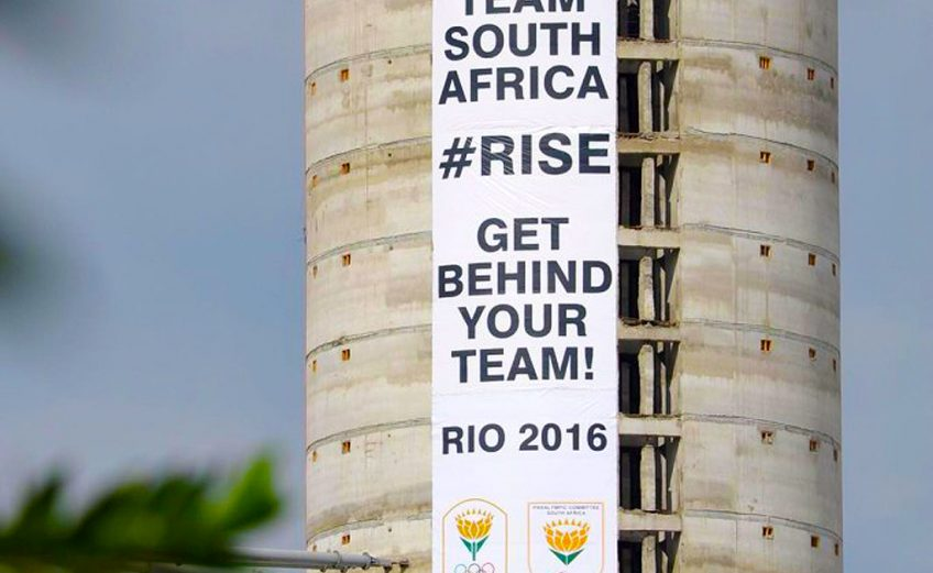 SASCOC announce 'TeamSA Rise' campaign ahead of Rio Olympics and Paralympics
