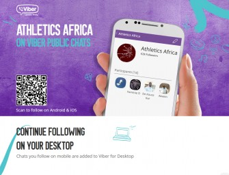 Join the conversation on AthleticsAfrica Viber Public Chats