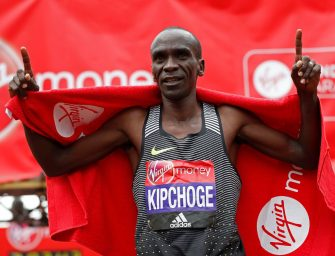 Kipchoge sets sights on Olympic gold at Rio 2016