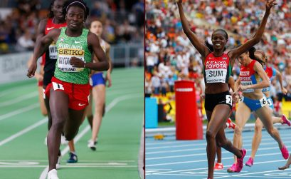 World indoor champion Francine Niyonsaba (Burundi) to take on 2013 world champion Eunice Sum (Kenya) in Rabat - IAAF Diamond League on 22 May