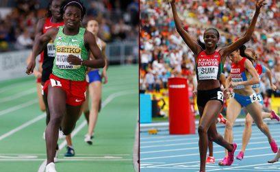 World indoor champion Francine Niyonsaba (Burundi) to take on 2013 world champion Eunice Sum (Kenya) in Rabat - IAAF Diamond League on 22 May