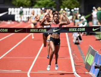 Kiyeng, Kipyegon smash Kenyan records in Eugene – IAAF Diamond League