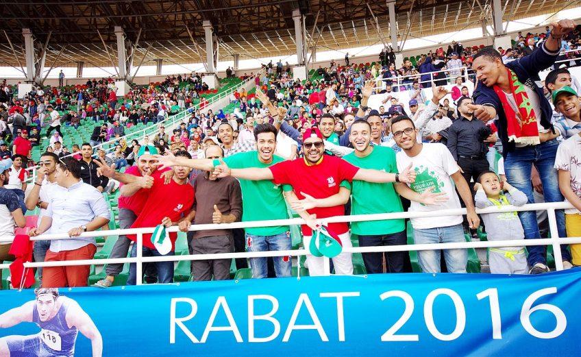 The Meeting International Mohammed VI d'athlétisme held Sunday in Rabat