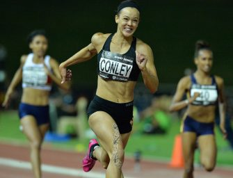 Conley sets 200m lifetime best in Lucerne