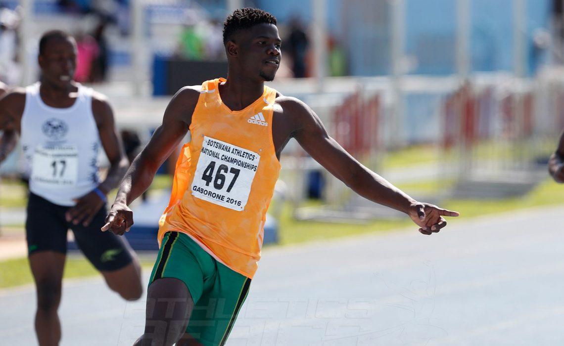 Baboloki Thebe - Botswana's rising star