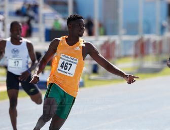Baboloki Thebe – Botswana's rising star