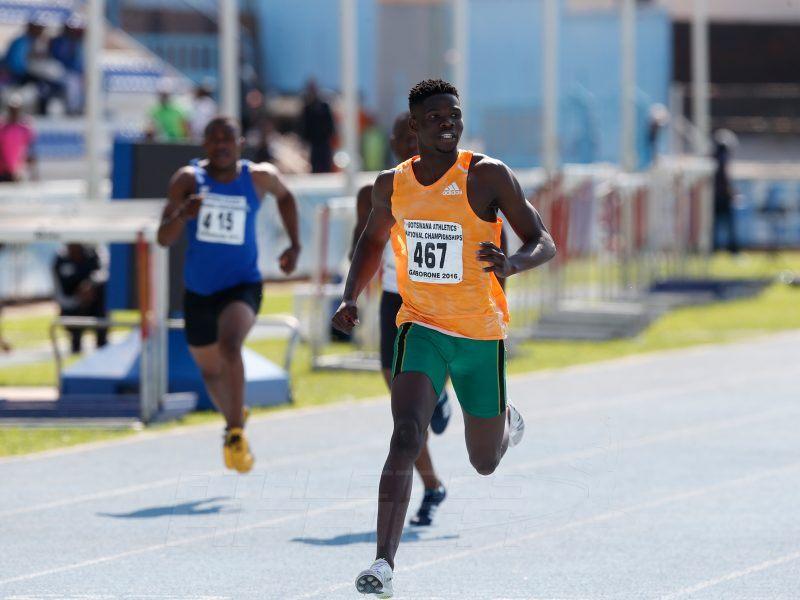 Baboloki Thebe - Botswana's rising athletics star