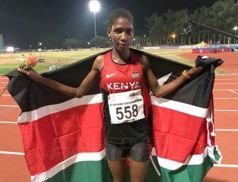 Aprot headlines Kenyan 10,000m sweep at Durban 2016