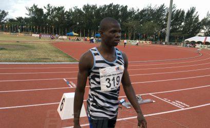 Botswana's Baboloki Thebe won the men's 400m Gold medal at the 20th African Senior Championships – Durban 2016 / Photo: Yomi Omogbeja