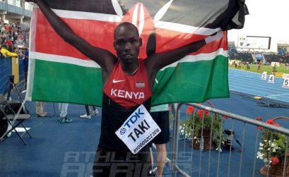 World Youth and Commonwealth Youth 1,500m champion Kumari Taki