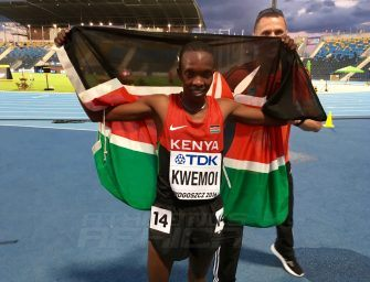 Chumo Kwemoi smashes U20 Championships record on Day 1 – Bydgoszcz 2016