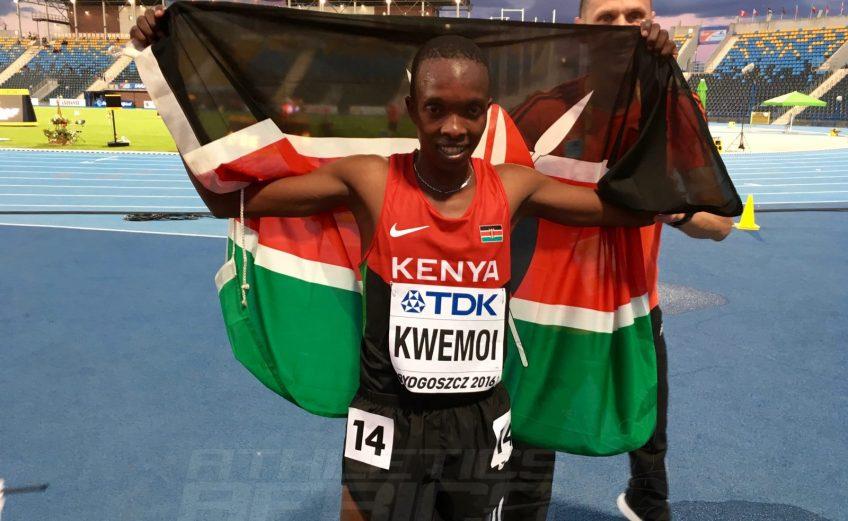 Kenya's Rodgers Chumo Kwemoi at Bydgoszcz 2016 / Photo copyright: Yomi Omogbeja