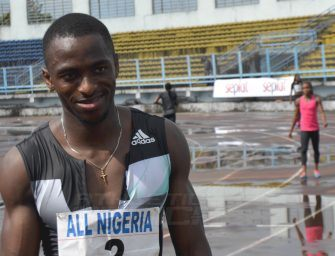 Seye Ogunlewe retains All-Nigeria 100m crown in Sapele