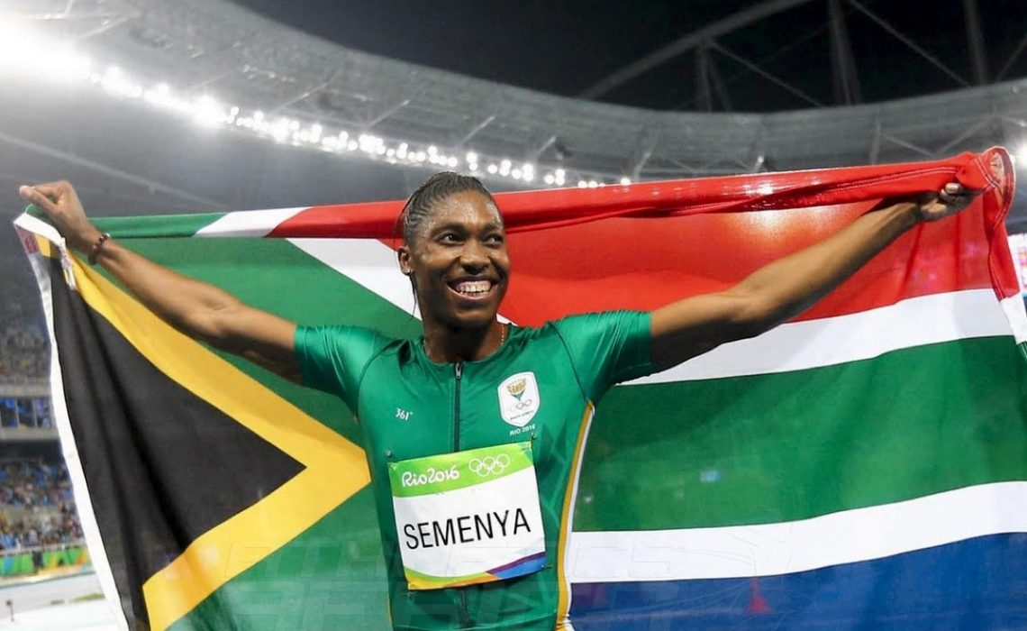 Caster Semenya breaks the national 800m record to earn gold at the Rio Olympics on Saturday night / Photo credit: Getty