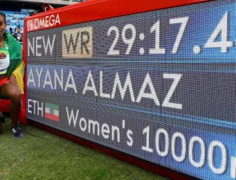 Ayana shatters 10,000m World Record at Rio 2016 Olympics