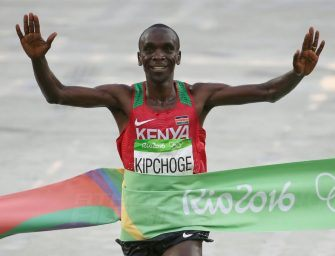 Rio 2016: Eliud Kipchoge takes marathon gold for Kenya