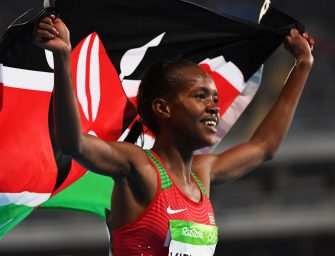 Rio 2016: Faith Kipyegon shocks Genzebe Dibaba for Olympic 1500m gold