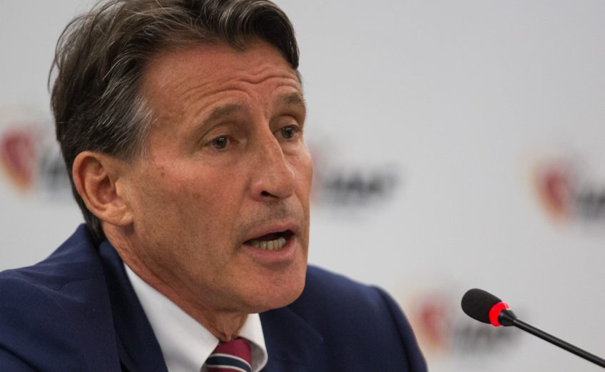 IAAF President Sebastian Coe speaking during the IAAF Council meeting in Rio, brazil / Photo credit: Getty Images for the IAAF
