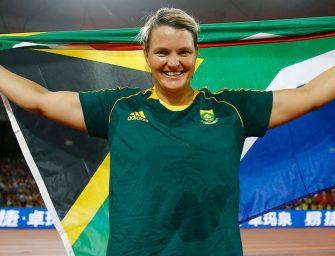 Sunette Viljoen wins Javelin Silver at Rio 2016 Olympics