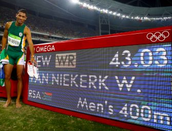 Rio 2016: Wayde Van Niekerk smashes 400m World Record