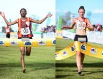 Manja, Molotsane lift South African Cross Country titles