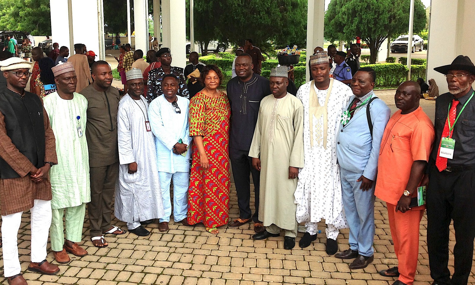 The newly elected board members of the Athletics Federation of Nigeria (AFN) in Abuja - 21 July, 2017 / Photo Credit: GongNews.net