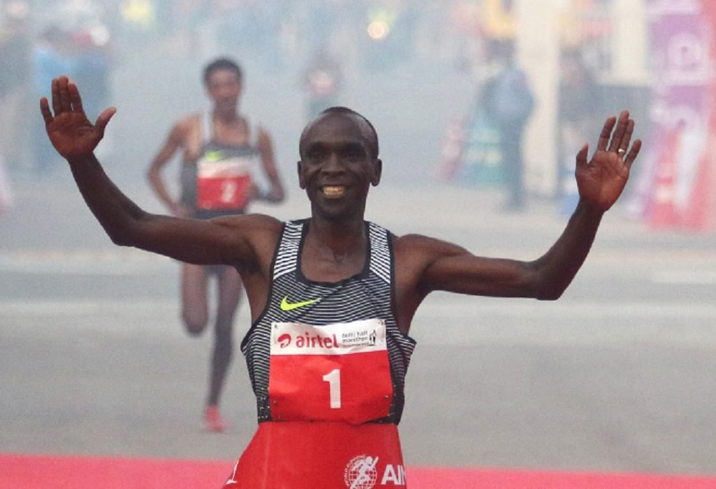 Kenya's Rio 2016 Olympic Champion Eliud Kipchoge targets World Record at the Berlin Marathon / Photo credit: photorun.net