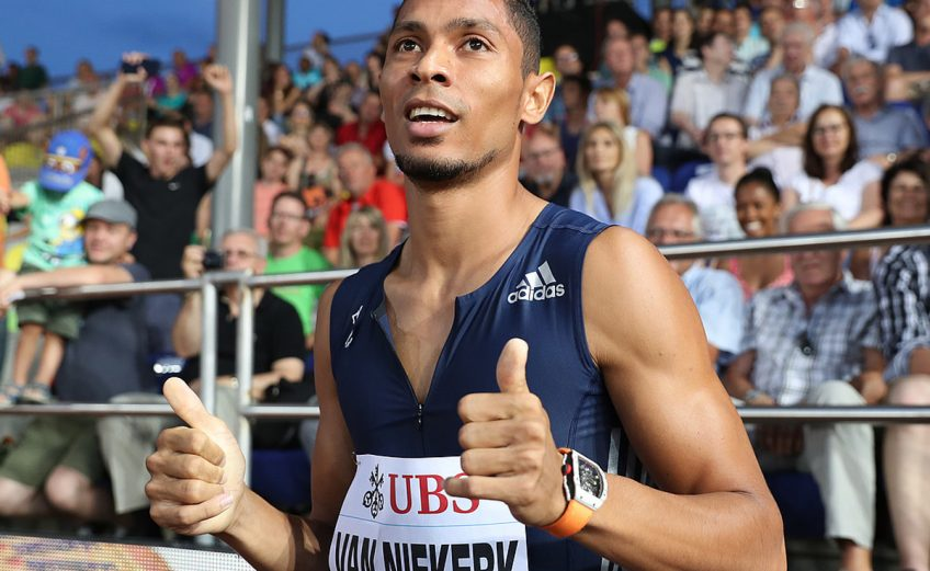 Wayde Van Niekerk at the Athletissima in Lausanne - June 6, 2017 / Photo: IAAF Diamond League