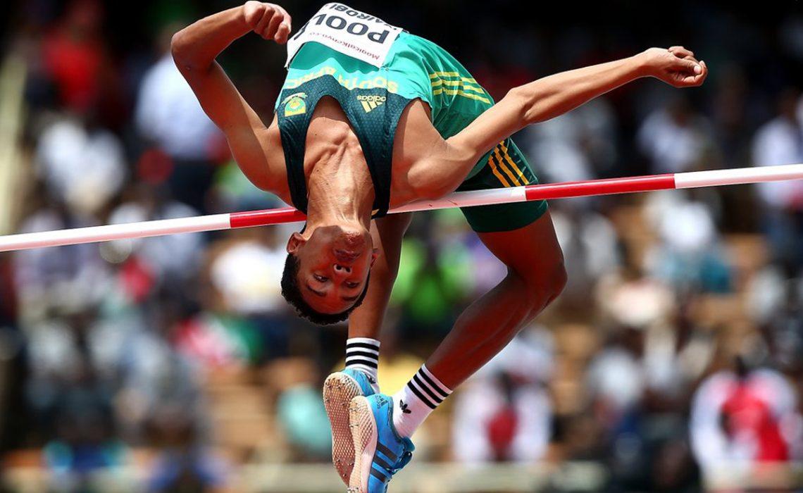 South African high jumper Breyton Poole at Nairobi 2017 / Photo Credit: IAAF