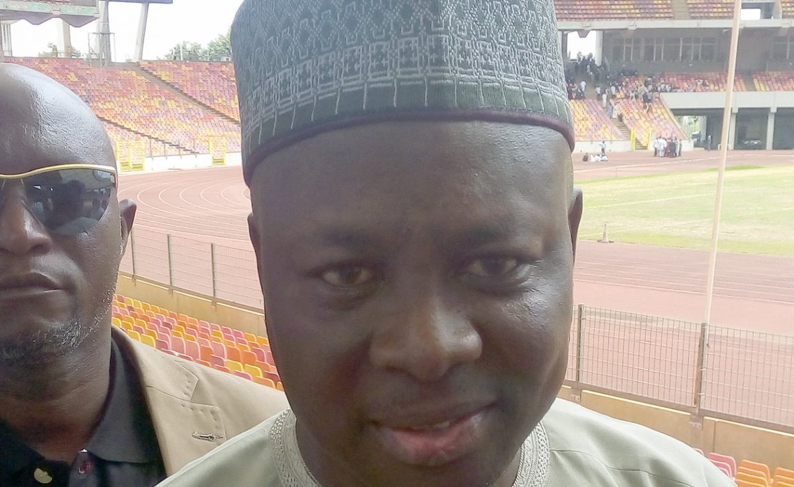 Alhaji Ibrahim Shehu Gusau, the President of the Athletics Federation of Nigeria (AFN) in Abuja - June 2017 / Photo Credit: Making of Champions