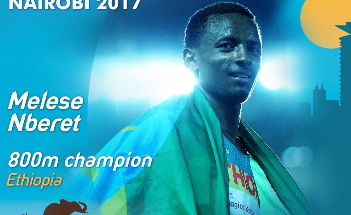 Melese Nberet - Credit: IAAF