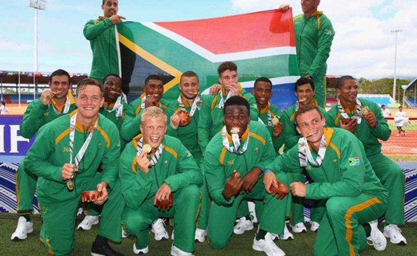 Team South Africa - Samoa 2015