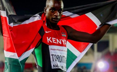 Kenya's Toroitich at the IAAF World U18 Championships in Nairobi 2017 / Photo credit: IAAF