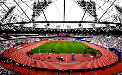 A view of the London Stadium (Photo Credit: Kirby Lee / Getty)