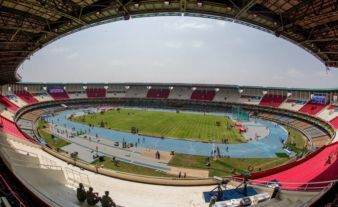 Moi stadium Kasarani, Nairobi in Kenya / Photo: Getty for the IAAF