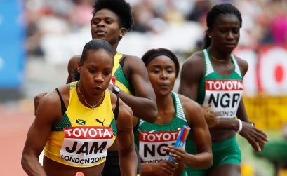 Team Nigeria - Women's 4x400m relay