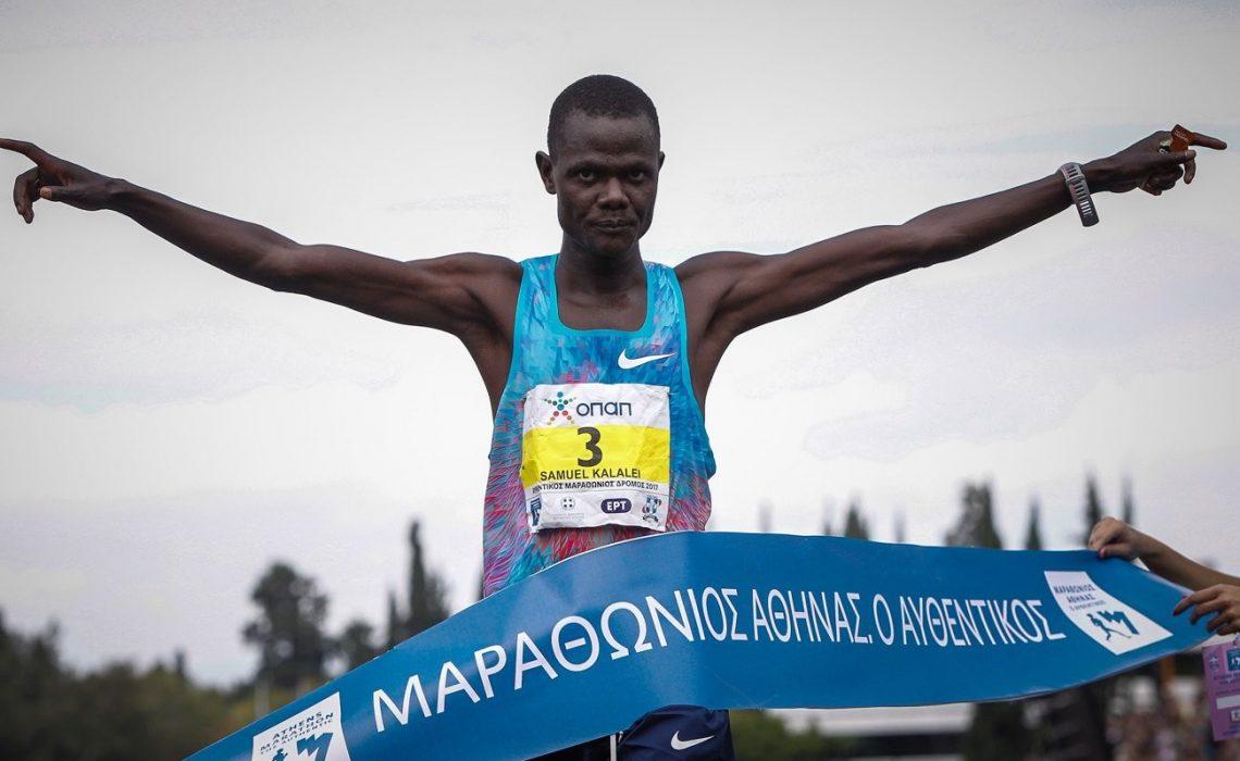 Samuel Kalalei (KENYA) 2:12:17 / Photo credit: SEGAS-AMA
