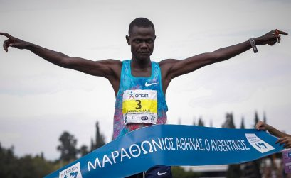 Samuel Kalalei (KENYA) 2:12:17 / Photo credit: SEGAS-AMA