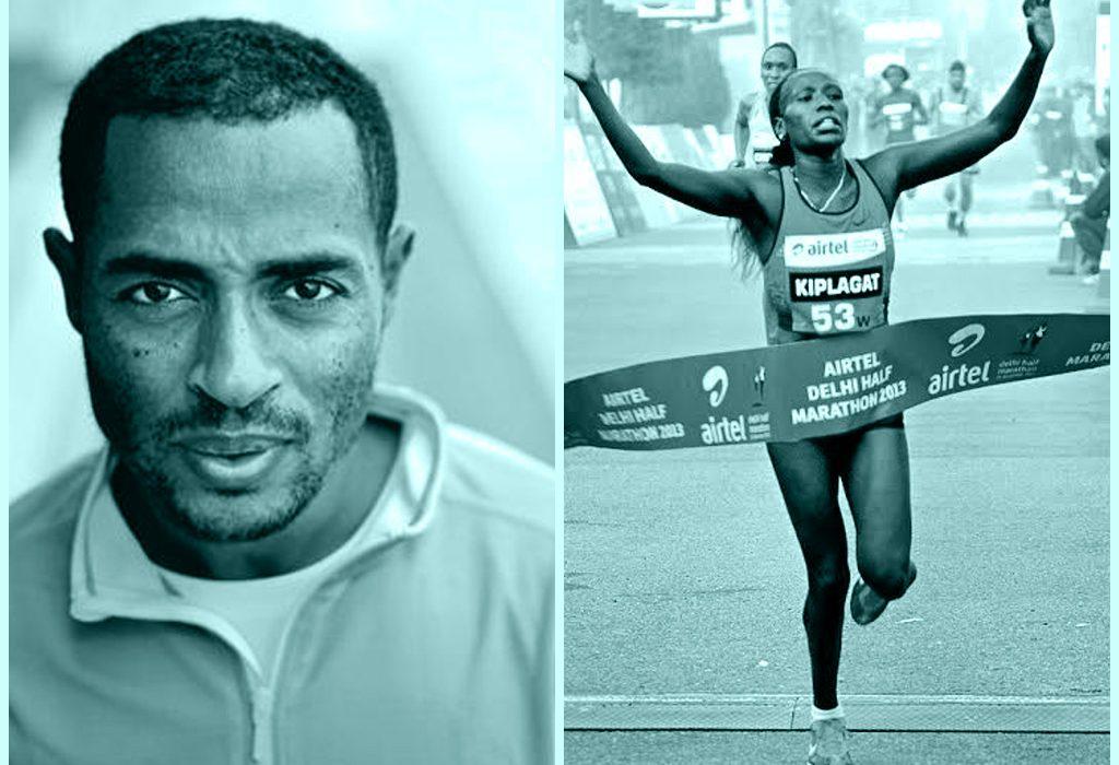 Distance running superstars Kenenisa Bekele and Florence Kiplagat / Photo credit: Procam International