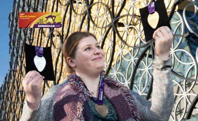 WIC Birmingham 2018 medals - Photo Credit: LOC