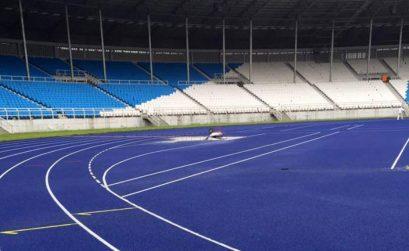 The new track of the Adokiye Amiesimaka Stadium will host the 2nd leg of the AFN Golden League. Photo Credit: Sunday Adeleye