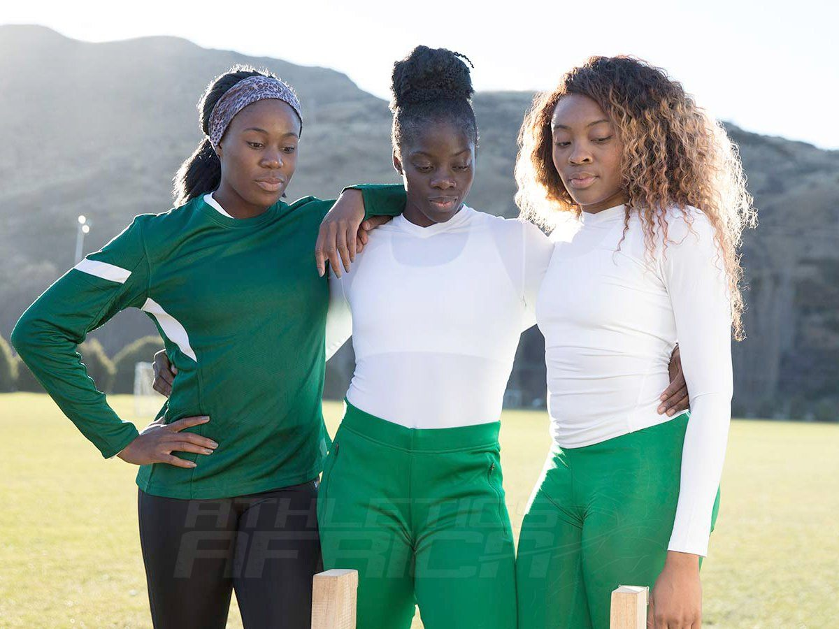 Nigerian women's bobsleigh team - Seun Adigun, Ngozi Onwumere, Akuoma Omeoga / Photo Credit: Team Visa