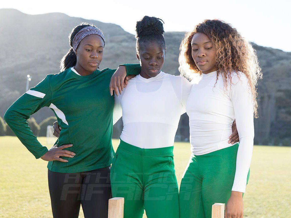 Nigerian women's bobsleigh team - Seun Adigun, Ngozi Onwumere, Akuoma Omeoga / Photo Credit: Team Visa